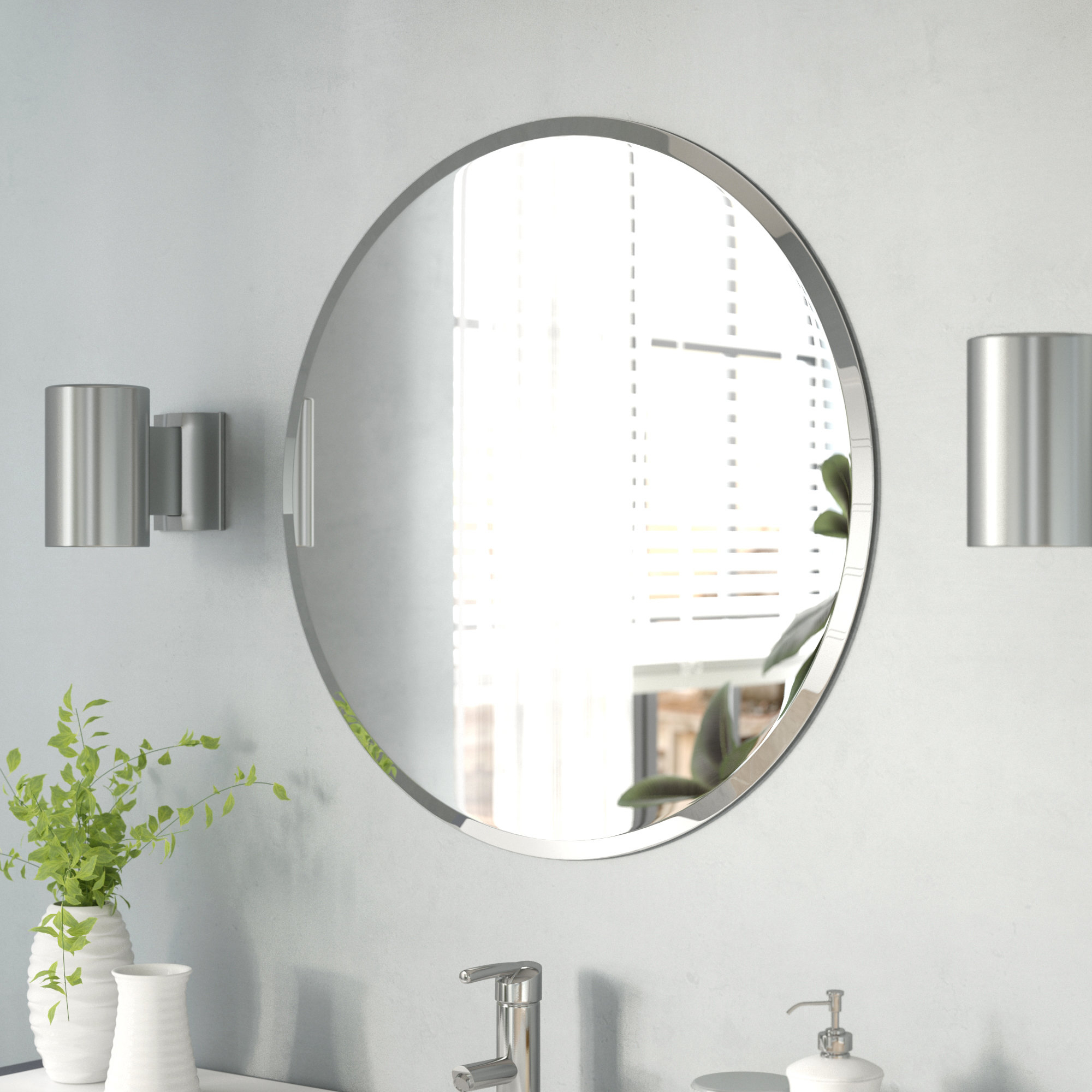 Adjustable Wall Mirror | Wayfair With Phineas Wall Mirrors (Image 1 of 20)