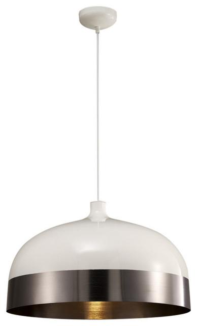 Adriana Pendant Lamp In Adriana Black 1 Light Single Dome Pendants (Image 2 of 25)