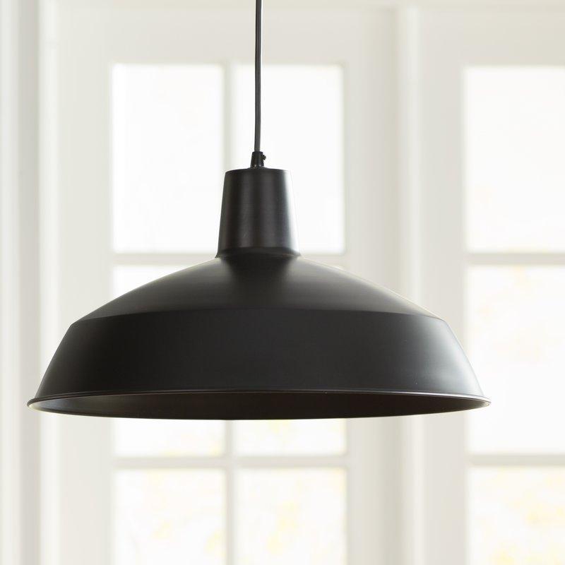 Featured Image of Adriana Black 1 Light Single Dome Pendants