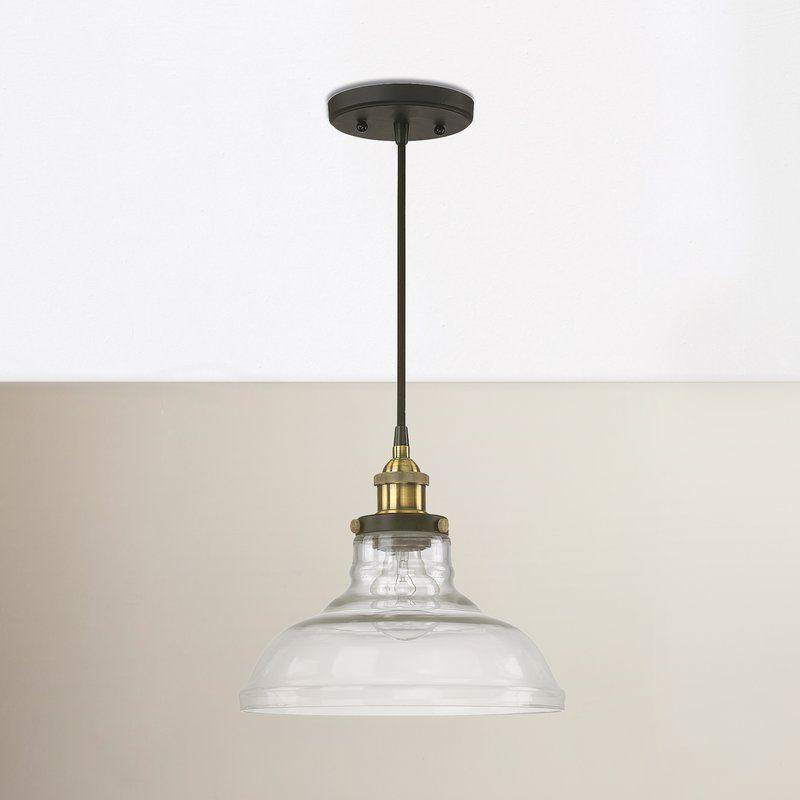Akakios 1 Light Bell Pendant | Kitchen Lighting | Chandelier Intended For Akakios 1 Light Single Bell Pendants (View 8 of 25)
