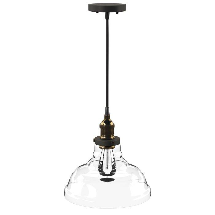 Akakios 1 Light Single Bell Pendant Pertaining To 1 Light Single Bell Pendants (Image 3 of 25)
