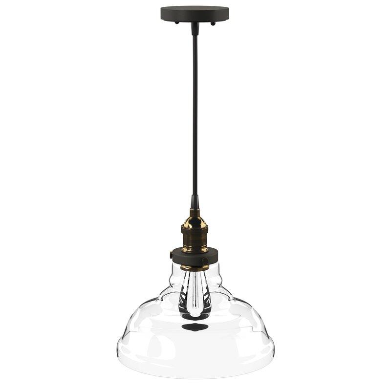 Akakios 1 Light Single Bell Pendant With Regard To Akakios 1 Light Single Bell Pendants (View 2 of 25)