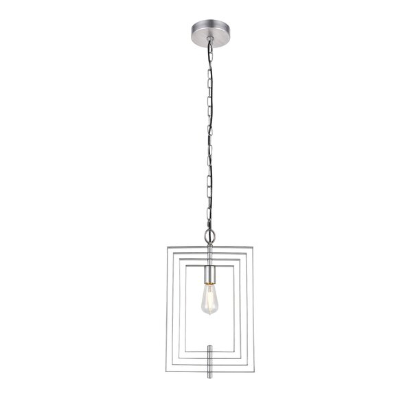 Featured Image of Akash Industrial Vintage 1 Light Geometric Pendants