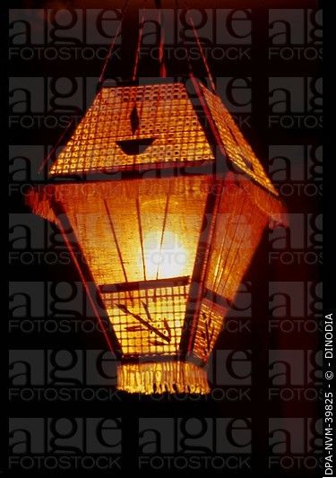 Akash Kandil Or Decorative Lanterns Hanging On Diwali Pertaining To Akash Industrial Vintage 1 Light Geometric Pendants (Image 5 of 25)