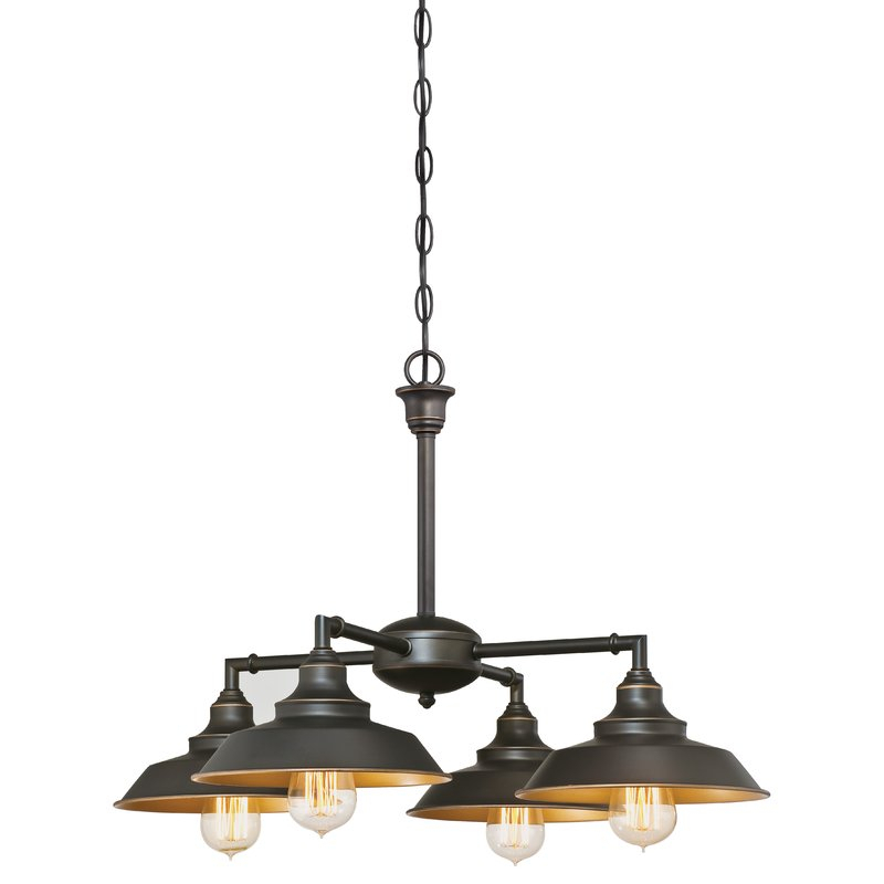Featured Image of Alayna 4 Light Shaded Chandeliers