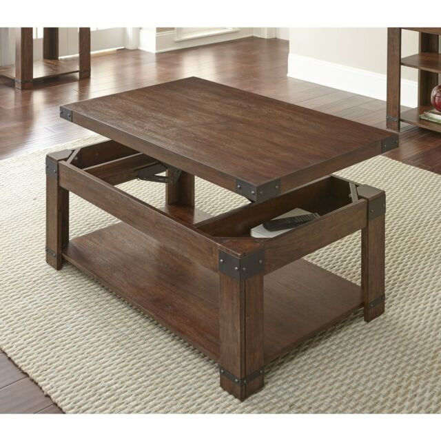 Aldridge 48 Inch Rectangle Lift Top Coffee Tablegreyson Cherry Pertaining To Lockwood Rectangle Coffee Tables (View 7 of 25)