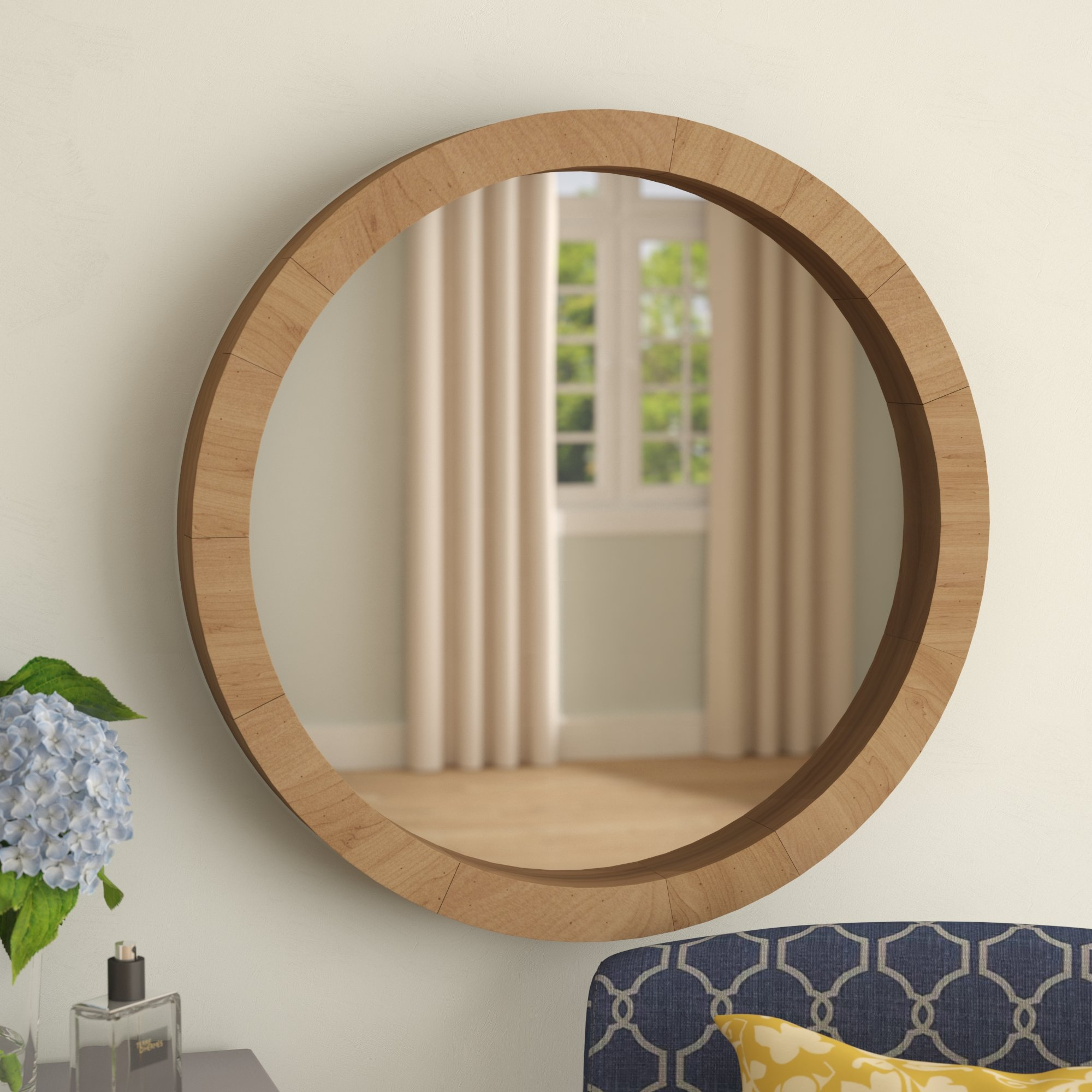 Alper Accent Mirror Throughout Wood Accent Mirrors (View 14 of 20)