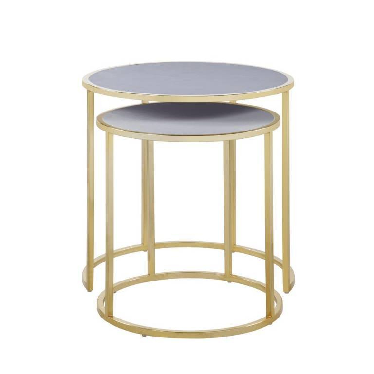 Amazing Grey Side Table Wayfair – Myparfum Within The Gray Barn Kujawa Metal X Coffee Tables – 40 X 22 X 18H (View 13 of 25)