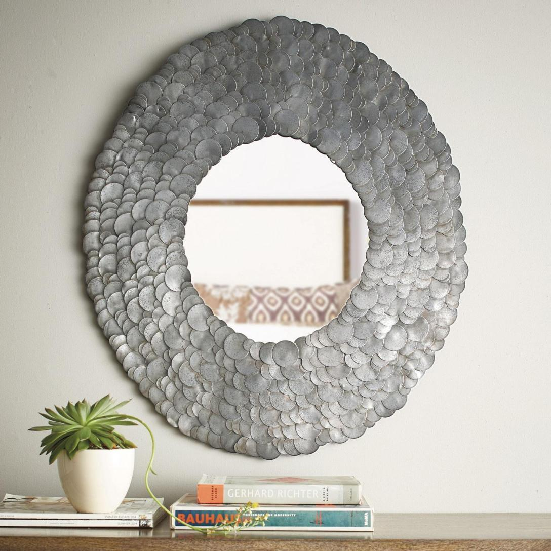 Amazing Scalloped Wall Mirror – Powerfulpizza (View 19 of 20)