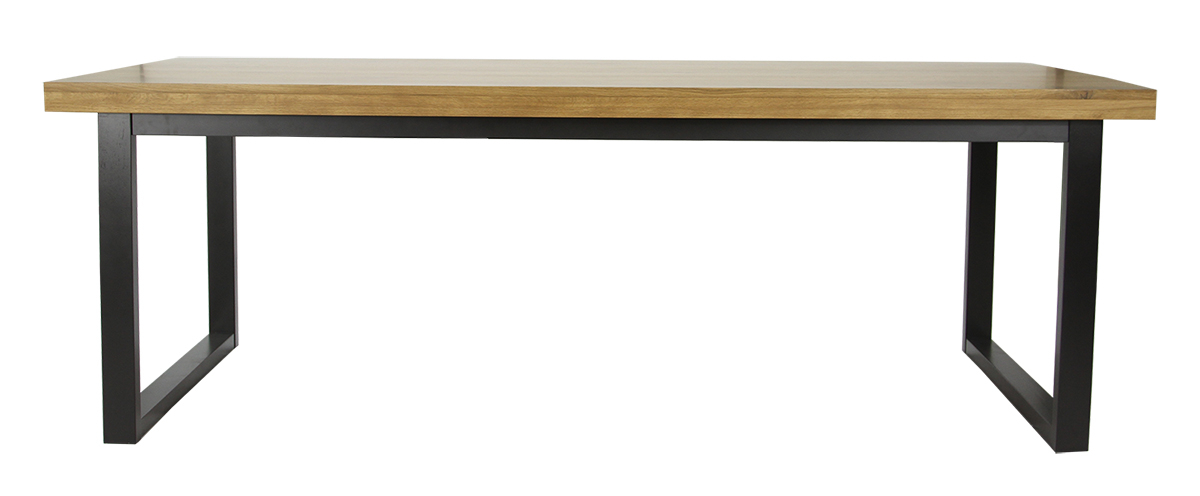 Anaheim Dining Table For Finbar Modern Rectangle Glass Coffee Tables (View 25 of 25)