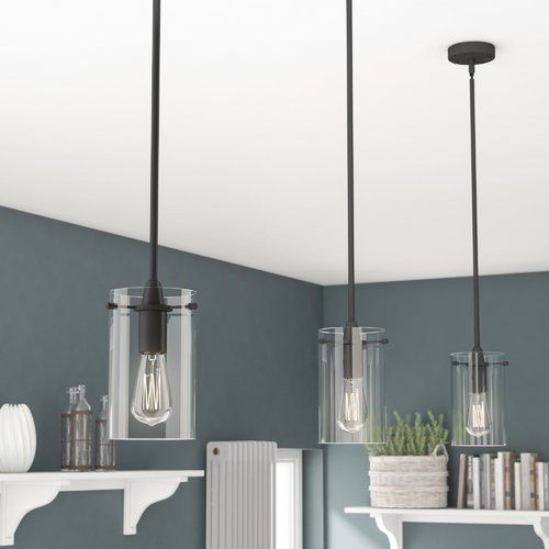 Angelina 1 Light Single Cylinder Pendant In 2019 | Student Regarding Angelina 1 Light Single Cylinder Pendants (View 11 of 25)