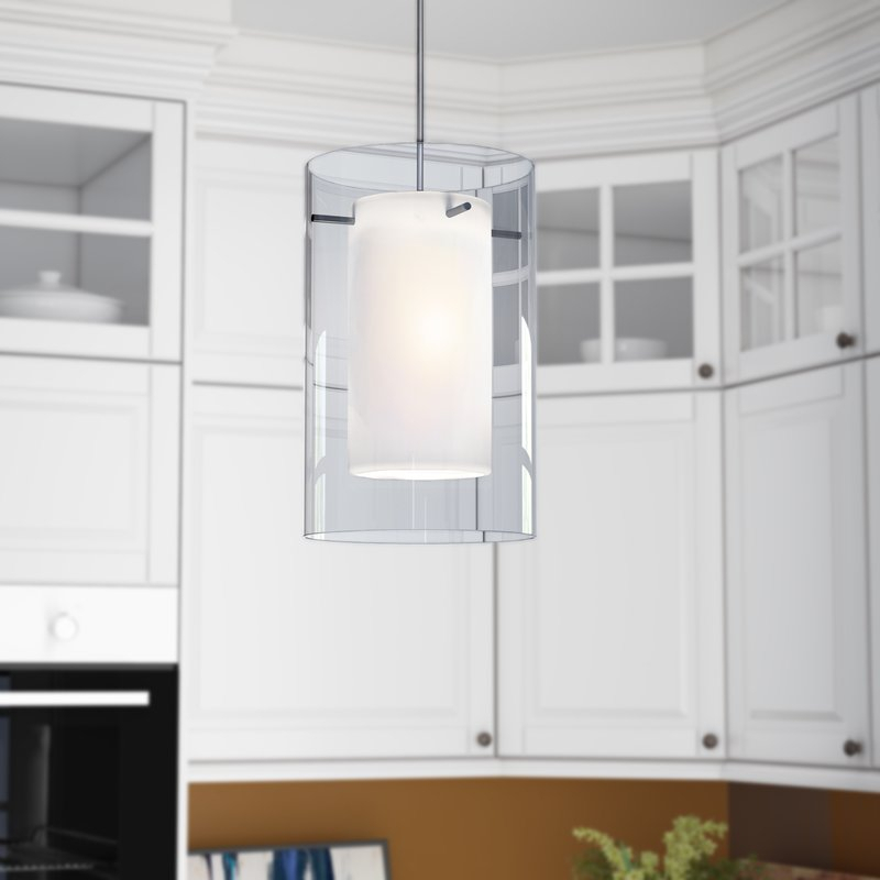 Annabell 1 Light Led Cylinder Pendant In Moyer 1 Light Single Cylinder Pendants (View 19 of 25)