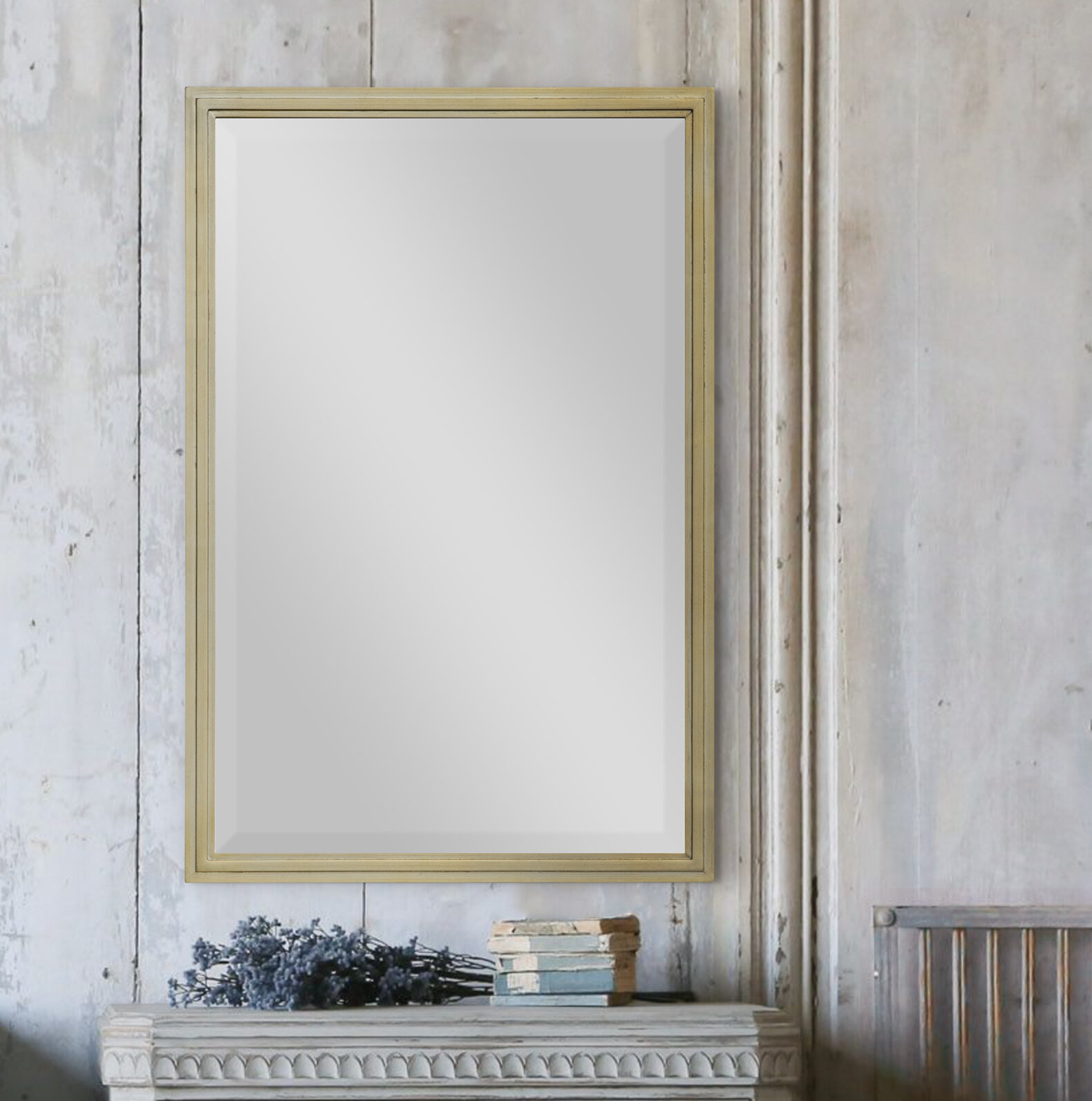 Annie Modern And Contemporary Beveled Accent Mirror Intended For Modern & Contemporary Beveled Accent Mirrors (View 4 of 20)