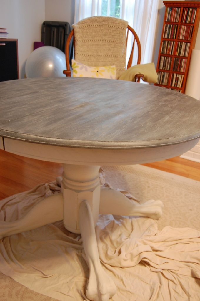 Annie Sloan – Technique For A Limed Oak Table | Home With Handmade Whitewashed Stripped Wood Tables (Image 2 of 25)