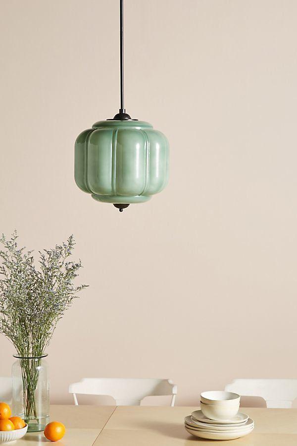 Anthropologie Eloise Pendantanthropologie | Modern Inside Adriana Black 1 Light Single Dome Pendants (Image 10 of 25)