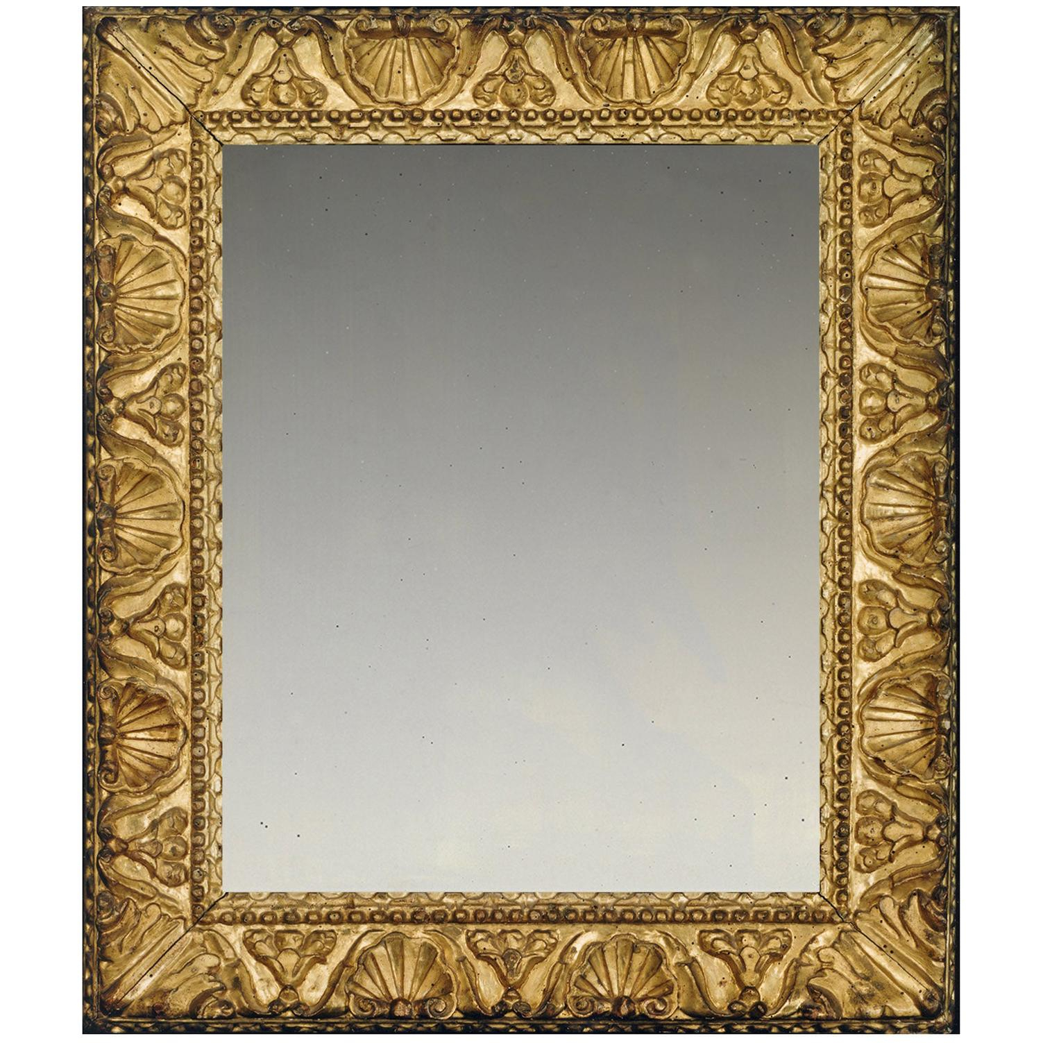 Antique And Vintage Mirrors – 16,830 For Sale At 1Stdibs With Traditional Square Glass Wall Mirrors (Image 1 of 20)