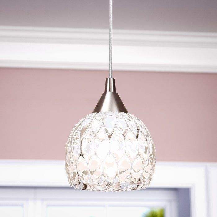 Appleton 1 Light Globe Pendant For Devereaux 1 Light Single Globe Pendants (Image 1 of 25)