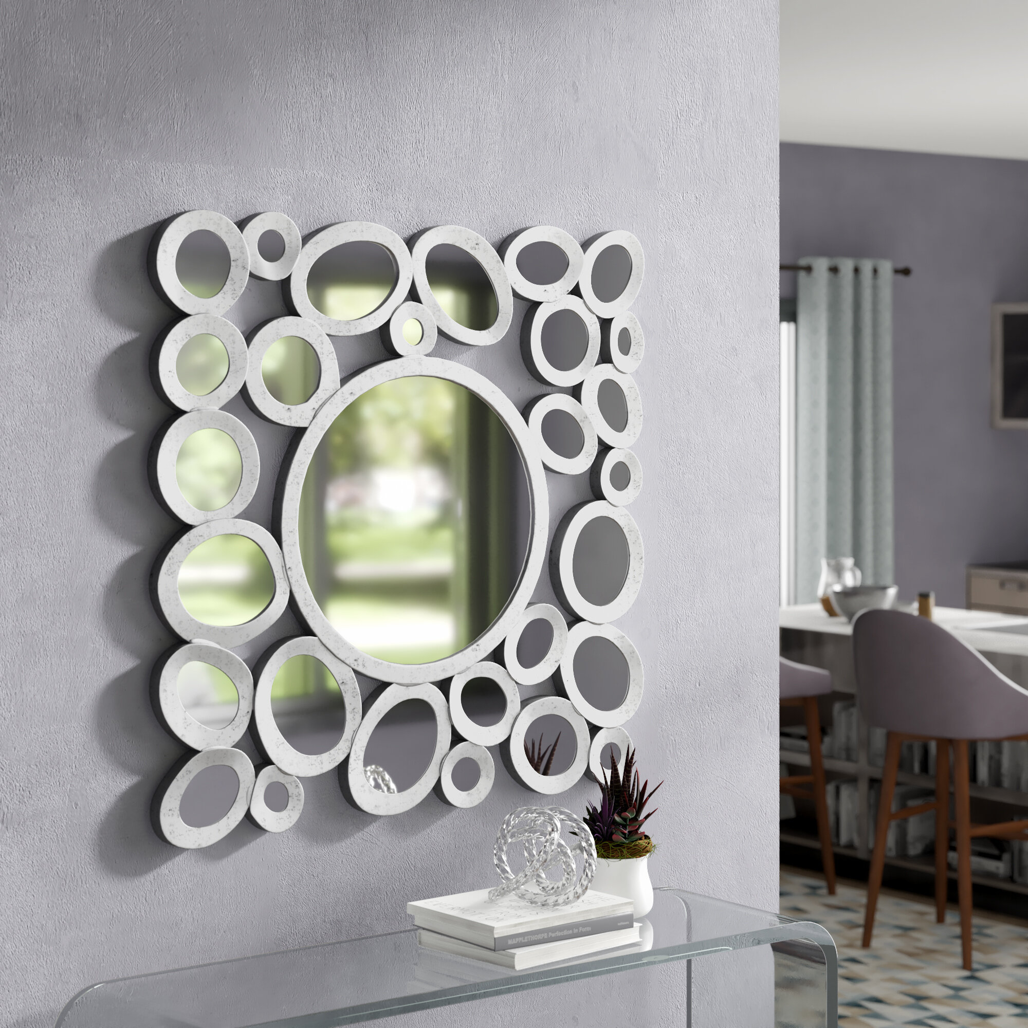 Arae Modern & Contemporary Accent Mirror Throughout Mcnary Accent Mirrors (View 19 of 20)