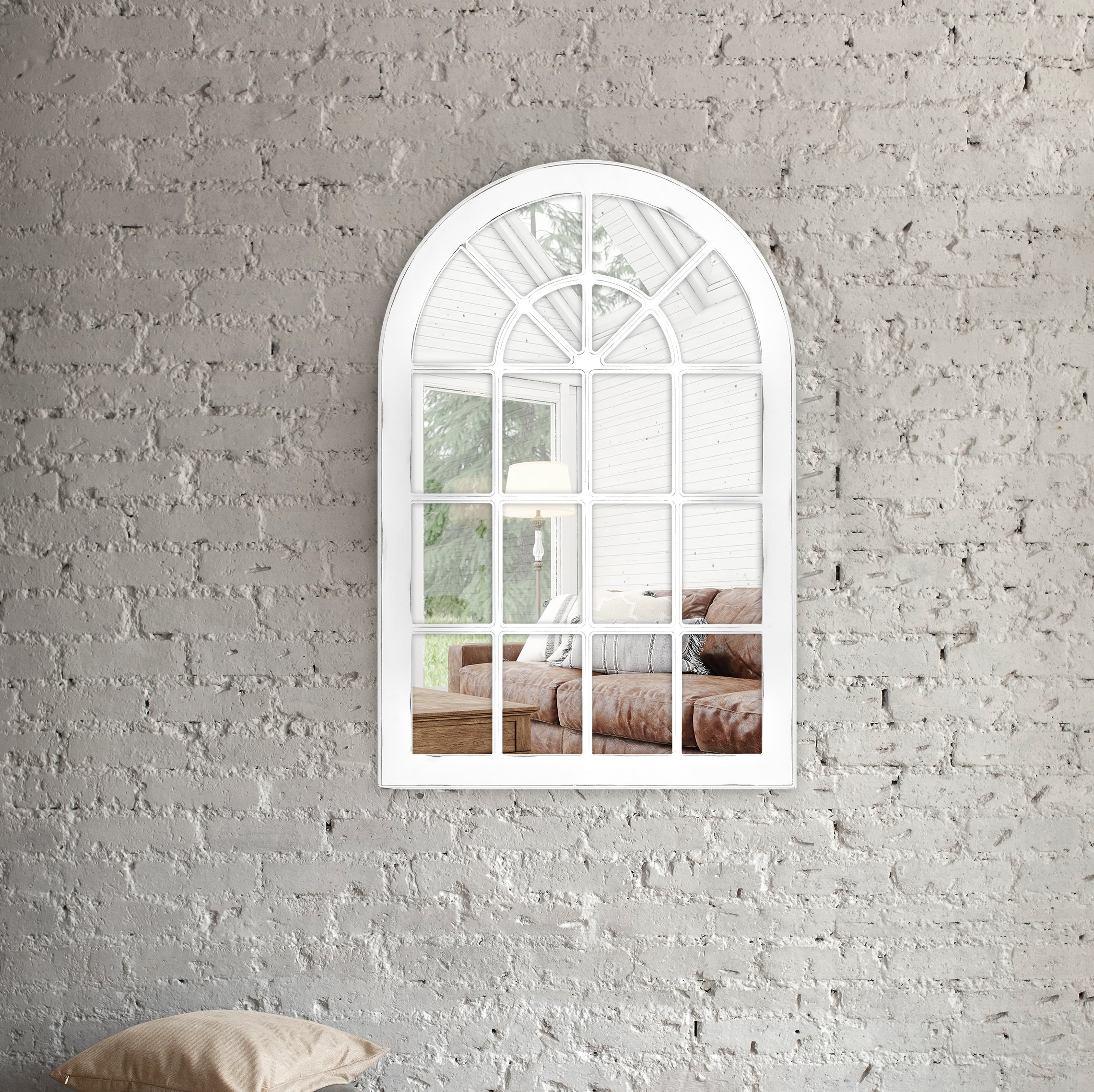 Arch & Crowned Top Wall Mounted Mirrors You'll Love In 2019 For Fifi Contemporary Arch Wall Mirrors (View 9 of 20)