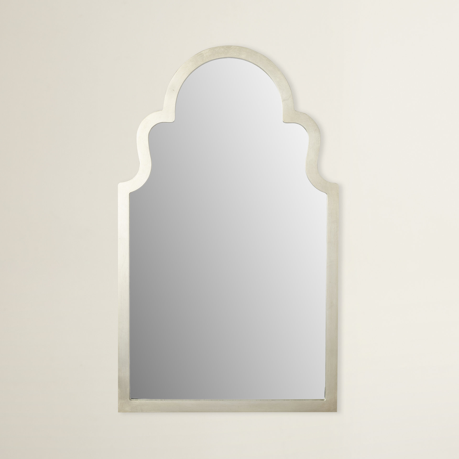 Arch Top Vertical Wall Mirror Intended For Fifi Contemporary Arch Wall Mirrors (View 7 of 20)
