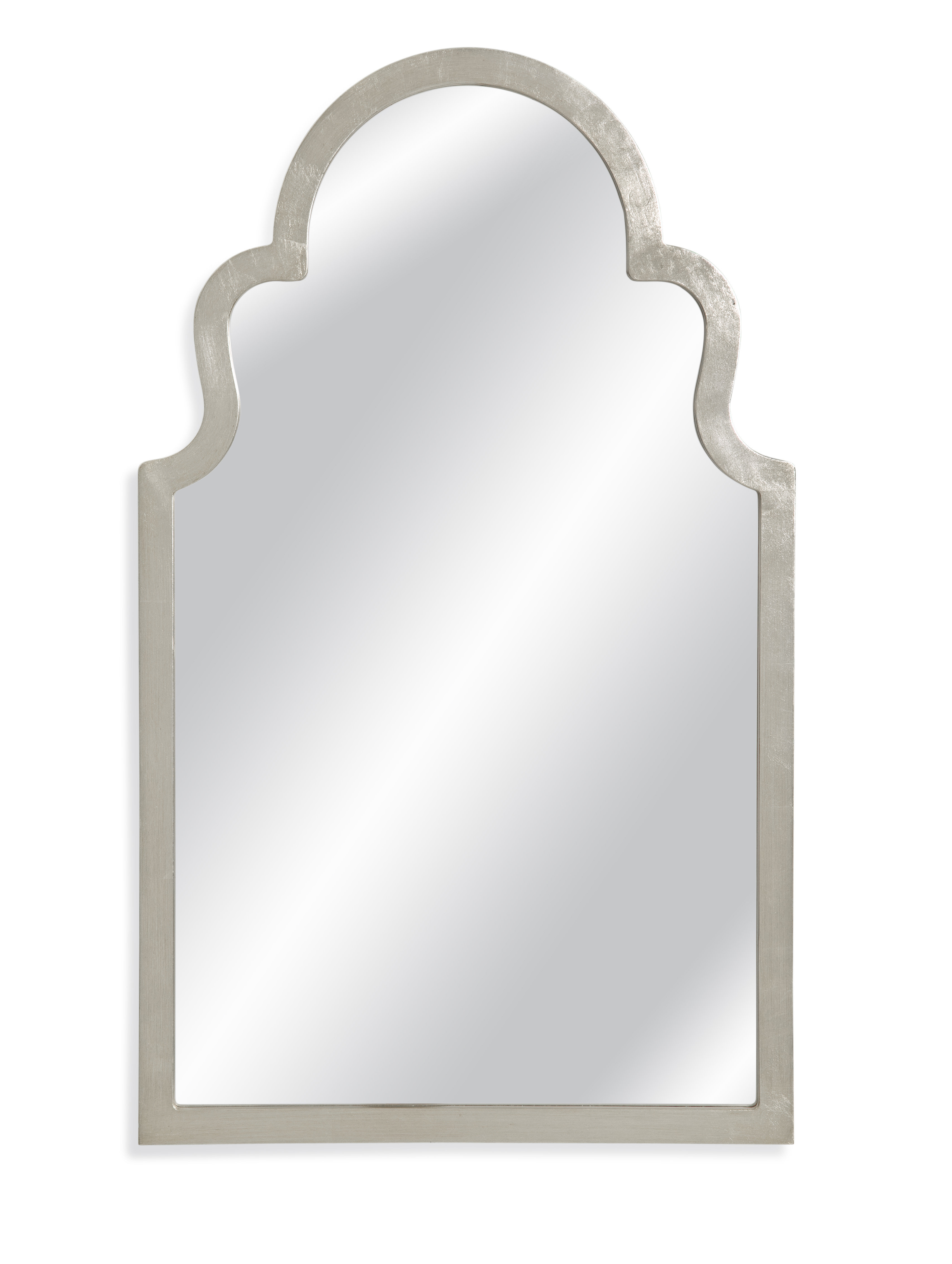 Arch Top Vertical Wall Mirror Regarding Dariel Tall Arched Scalloped Wall Mirrors (Image 2 of 20)