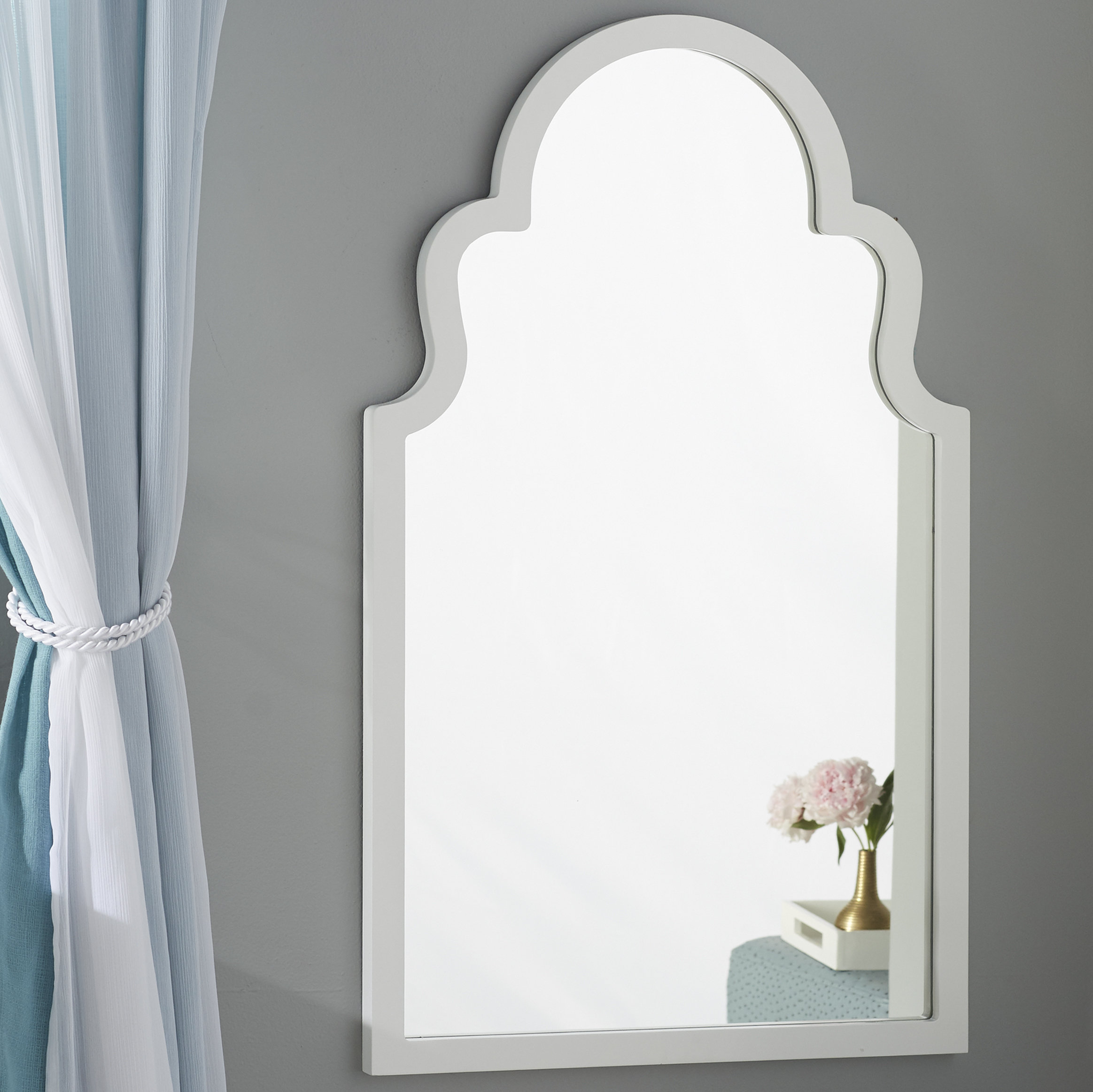Arch Vertical Wall Mirror With Fifi Contemporary Arch Wall Mirrors (View 16 of 20)