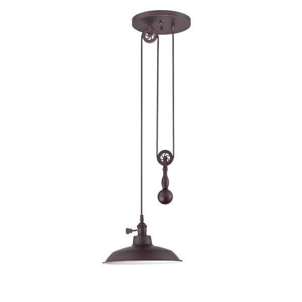 Ariel 1 Light Single Dome Pendant For Ariel 2 Light Kitchen Island Dome Pendants (Image 4 of 25)