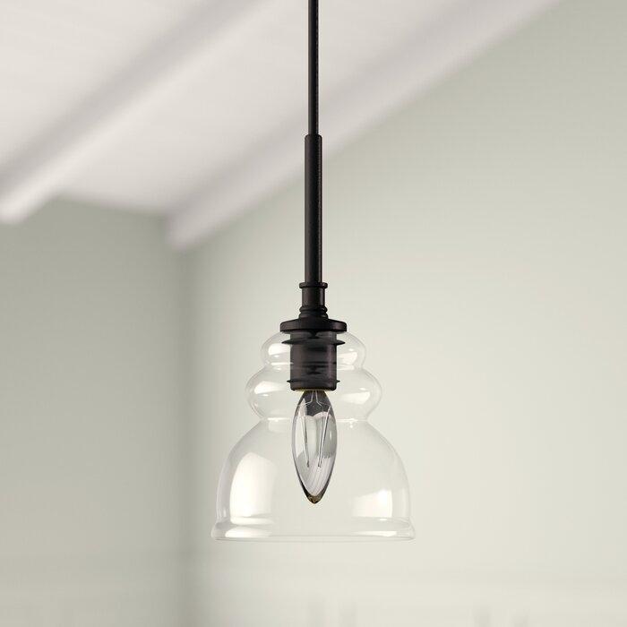 Arla 1 Light Single Bell Pendant With Regard To Erico 1 Light Single Bell Pendants (View 9 of 25)