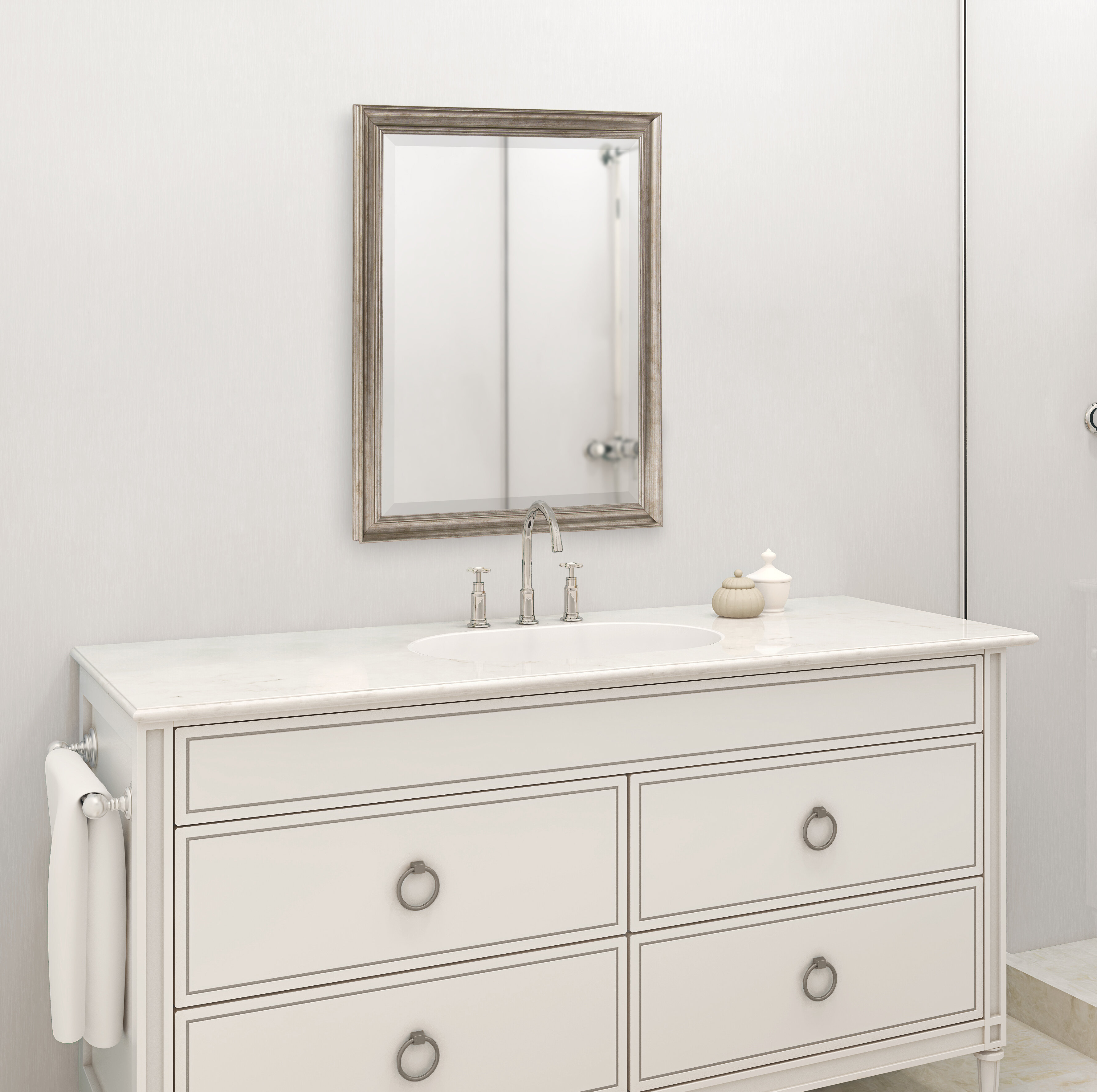 Arlo Framed Rectangle Accent Mirror With Regard To Rectangle Accent Mirrors (View 18 of 20)