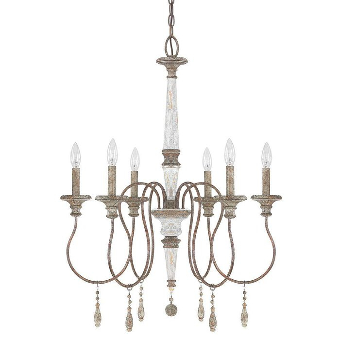 Armande Candle Style Chandelier For Armande Candle Style Chandeliers (Image 4 of 20)