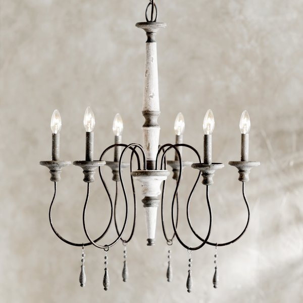 Armande Candle Style Chandelier Intended For Armande Candle Style Chandeliers (View 2 of 20)