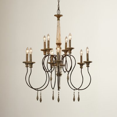 Armande Candle Style Chandelier | Joss & Main Pertaining To Bouchette Traditional 6 Light Candle Style Chandeliers (View 14 of 20)