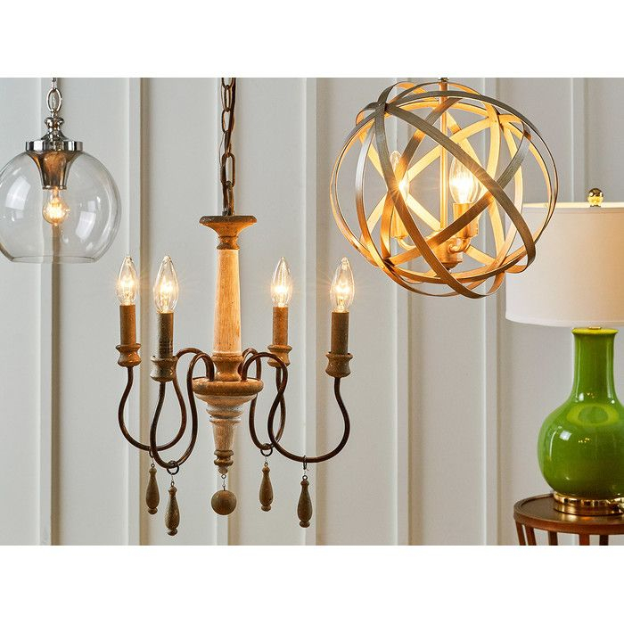 Armande Candle Style Chandelier | Lighting | Chandelier Regarding Armande Candle Style Chandeliers (Image 3 of 20)