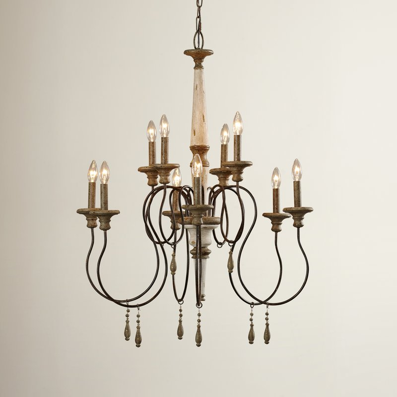 Armande Candle Style Chandelier Regarding Armande Candle Style Chandeliers (View 4 of 20)