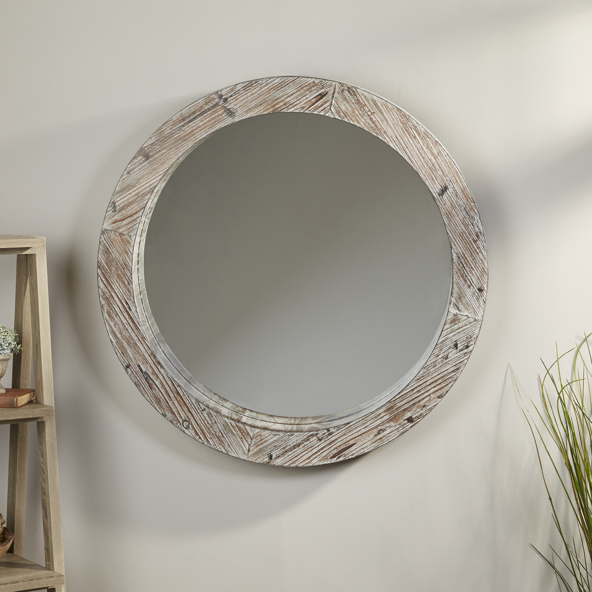 Arminta Cottage/country Accent Mirror Intended For Bartolo Accent Mirrors (Image 4 of 20)