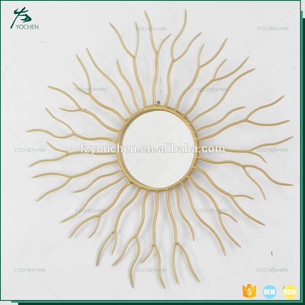 Art Decorative Sun Shaped Wall Mirror Gold Victorian Mirror – Buy Victorian Mirror,sun Shaped Wall Mirror,unique Wall Mirrors Product On Alibaba Within Sun Shaped Wall Mirrors (View 14 of 20)