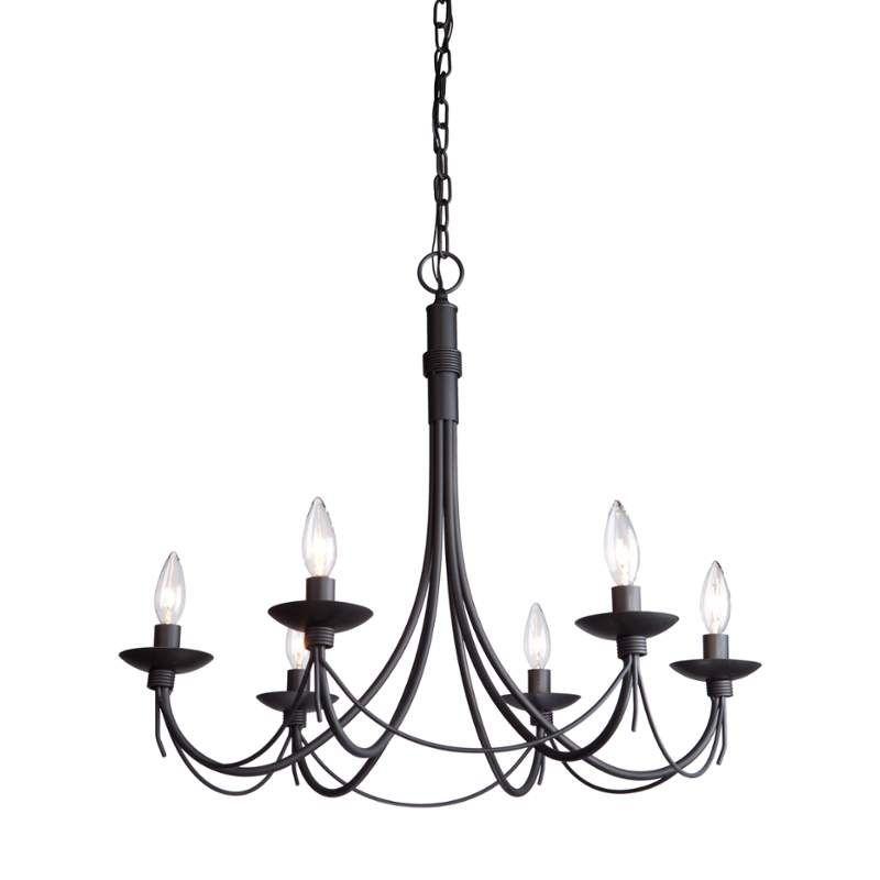 Artcraft Lighting Ac1486Eb   New House – Lighting   Wrought Regarding Diaz 6 Light Candle Style Chandeliers (Image 1 of 20)