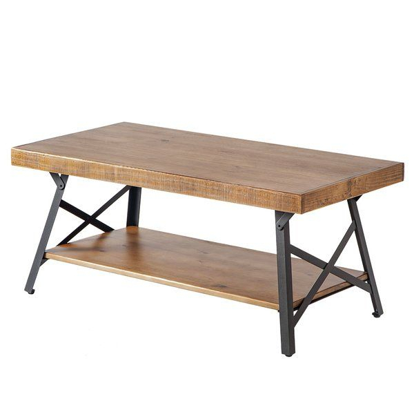 Arundel Coffee Table & Reviews | Allmodern | Home :: Living Intended For Carbon Loft Oliver Modern Rustic Natural Fir Coffee Tables (View 14 of 25)