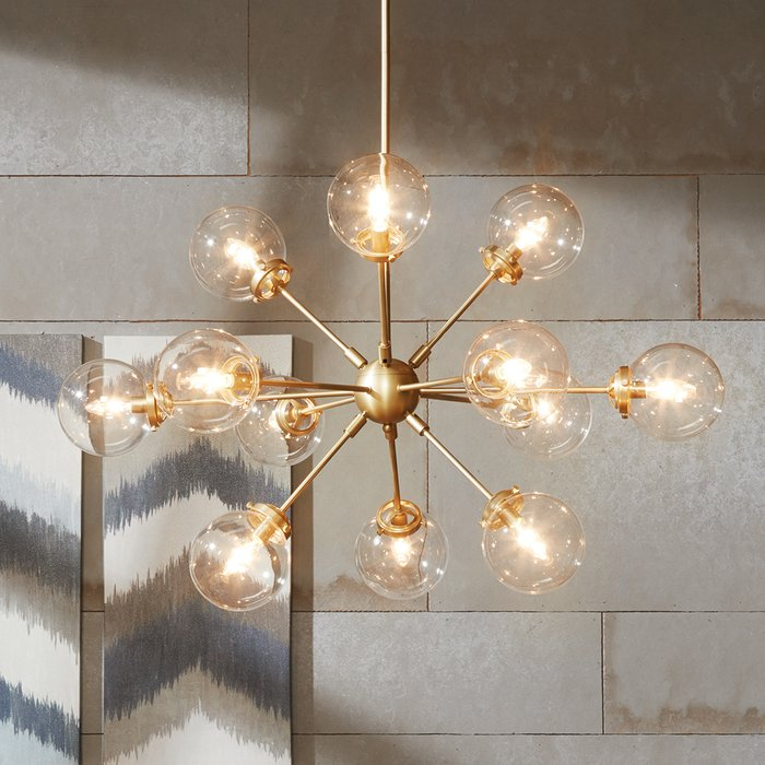 Featured Image of Asher 12 Light Sputnik Chandeliers