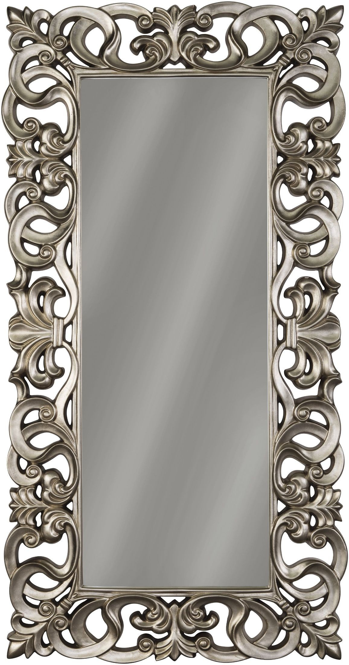 Ashley Lucia Antique Silver Accent Mirror Within Accent Mirrors (Image 11 of 20)