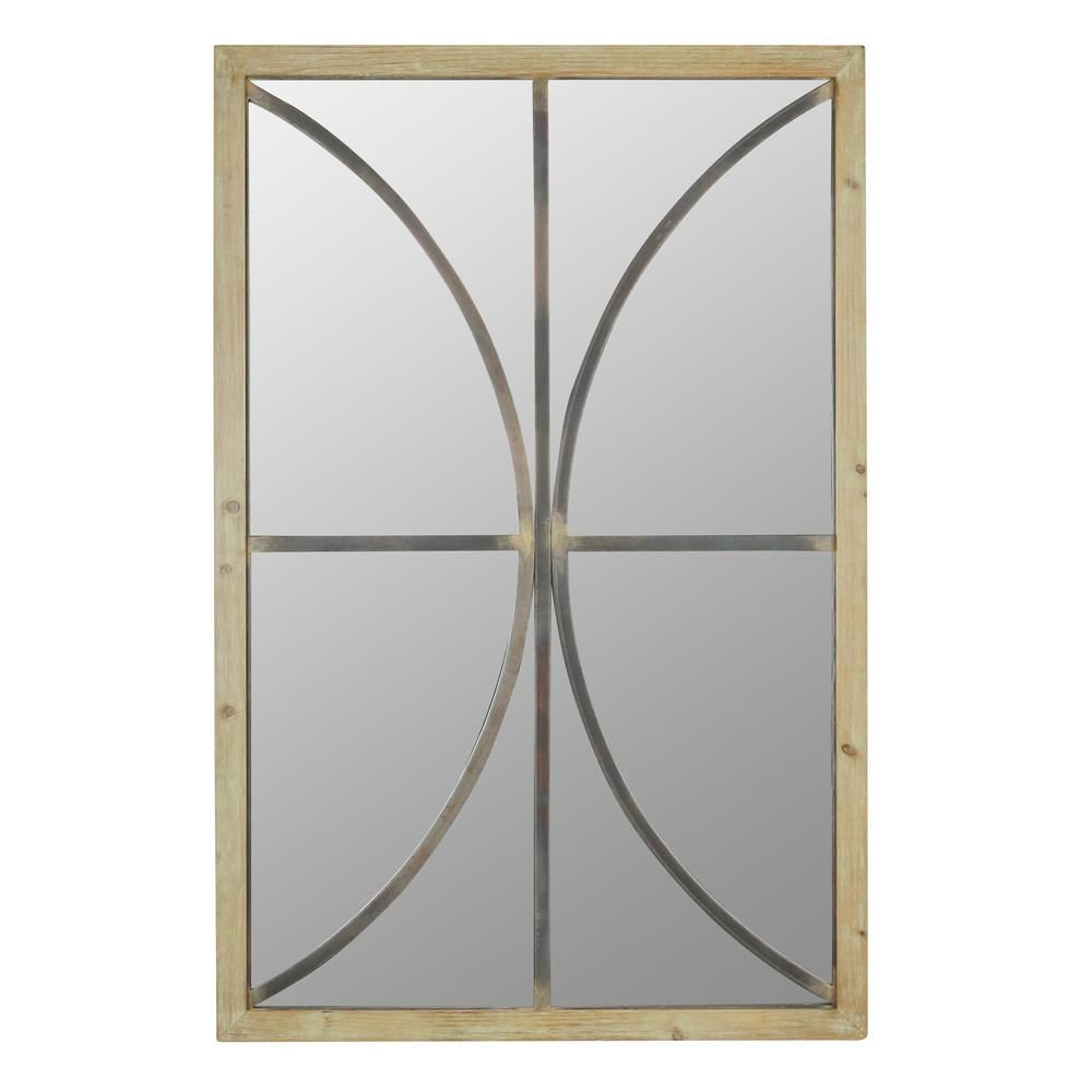 Aspire Home Accents Donovan Modern Farmhouse Wall Mirror Regarding Phineas Wall Mirrors (Image 2 of 20)