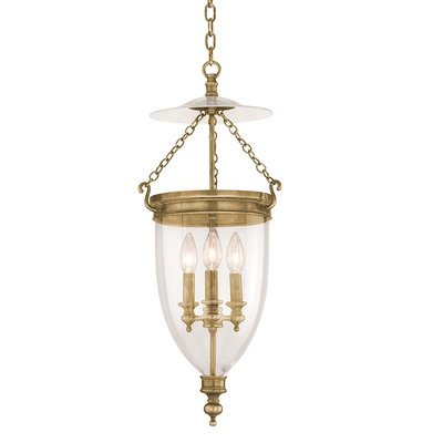 Astoria Grand Philipston 3 Light Single Urn Pendant With Regard To 3 Light Single Urn Pendants (Image 6 of 25)