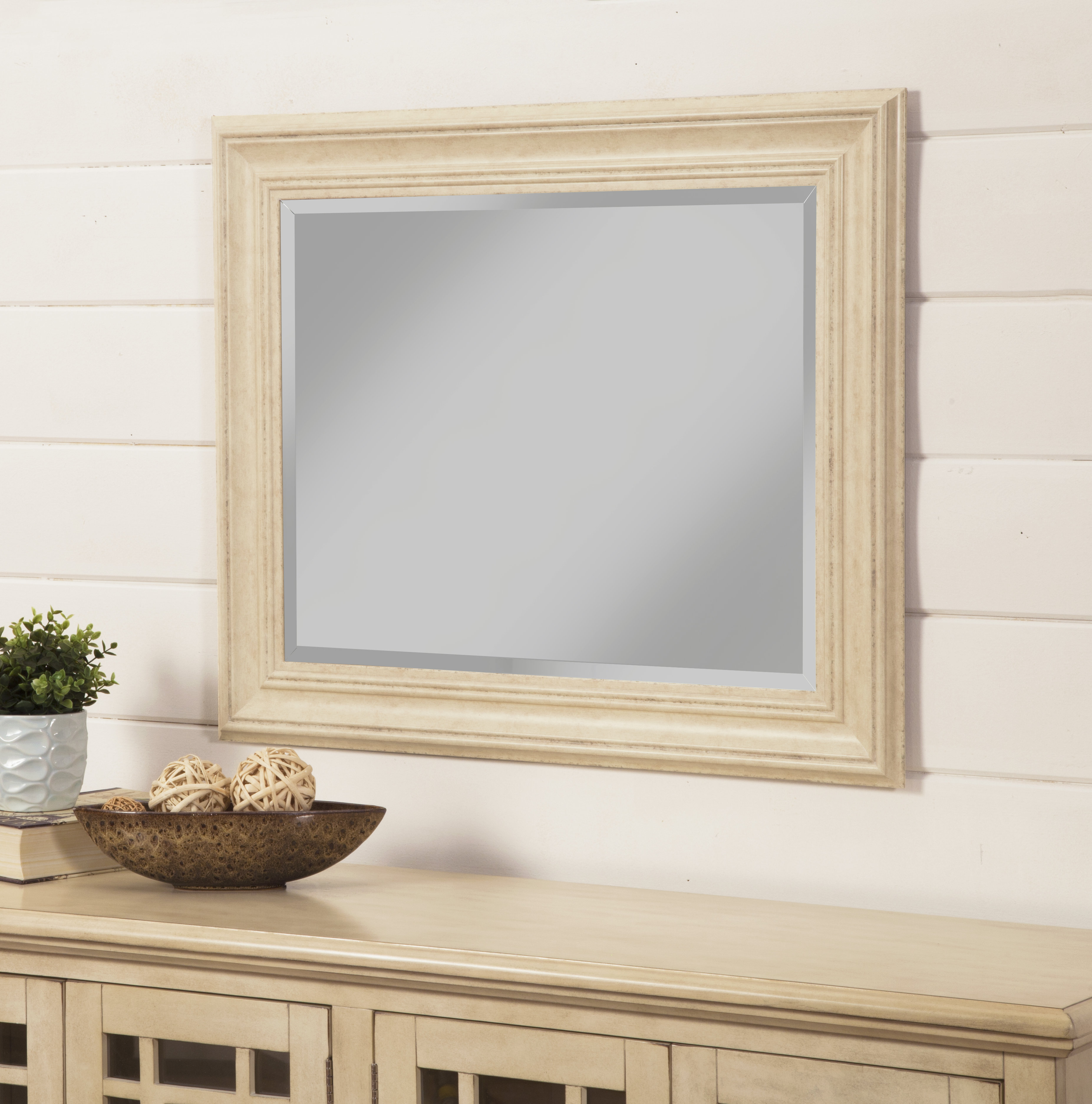 Attie Traditional Beveled Wall Mirror Throughout Traditional Beveled Wall Mirrors (View 5 of 20)