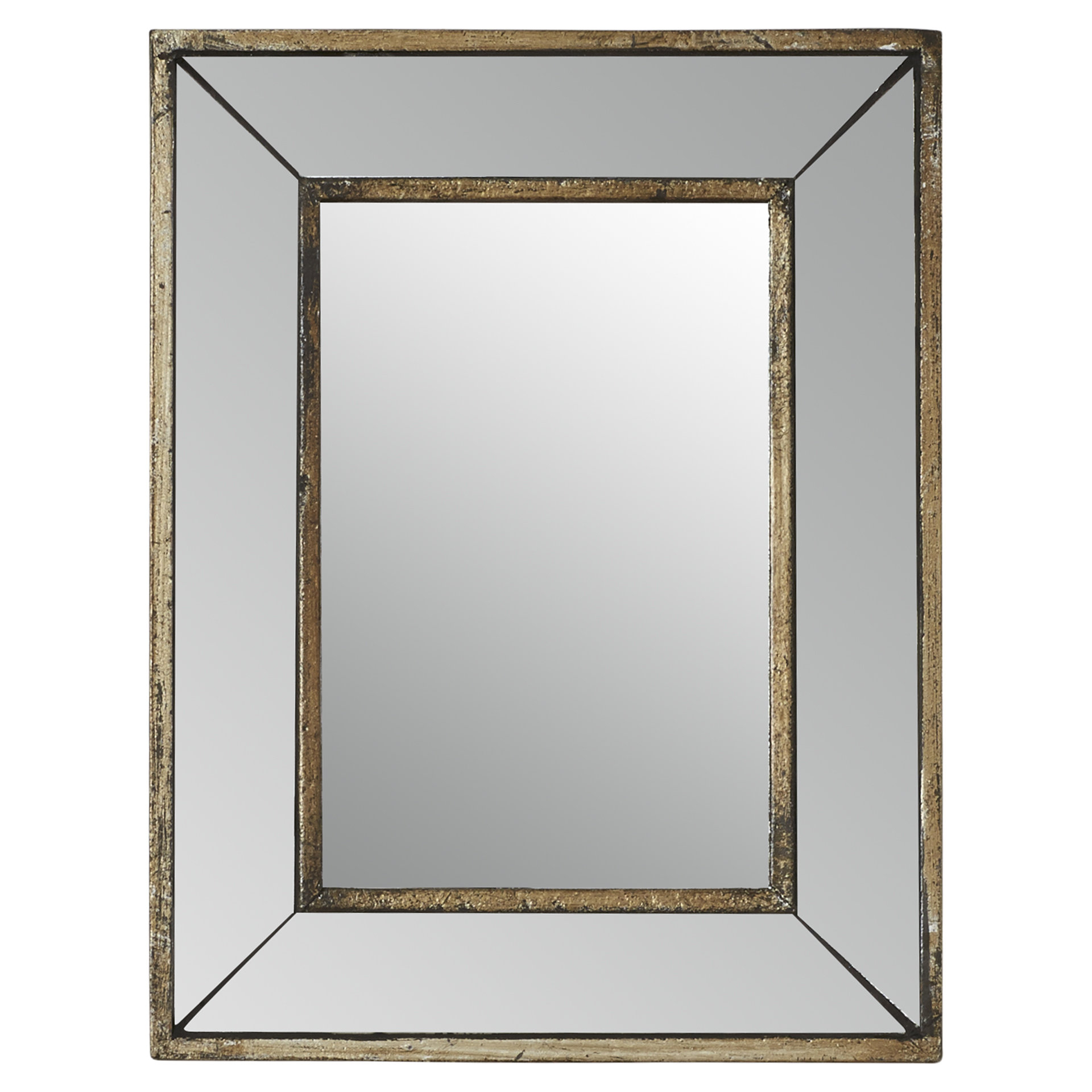 Auvillar Accent Mirror For Gia Hexagon Accent Mirrors (Image 1 of 20)