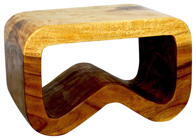 B Bench, Oak Pertaining To Strata Chrome Glass Coffee Tables (View 25 of 25)