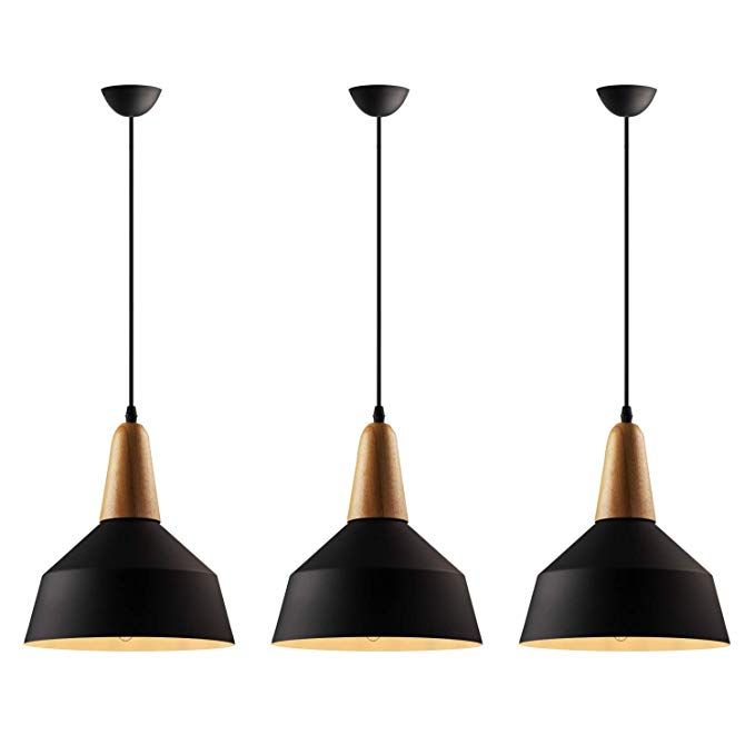 B2Ocled Pendant Light Set, E26/e27 Lamps And Pendant Pertaining To Giacinta 1 Light Single Bell Pendants (View 21 of 25)