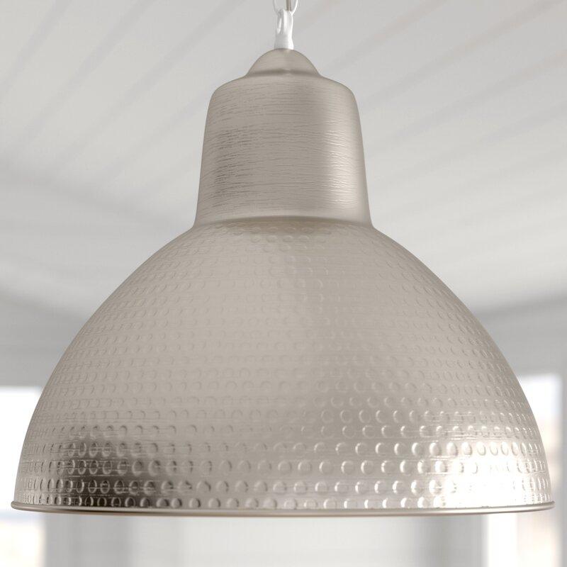 Bainbridge 1 Light Single Dome Pendant In Hamilton 1 Light Single Dome Pendants (Image 2 of 25)