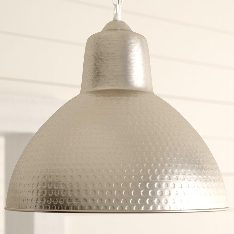 Bainbridge 1 Light Single Dome Pendant With Regard To Hamilton 1 Light Single Dome Pendants (Image 4 of 25)