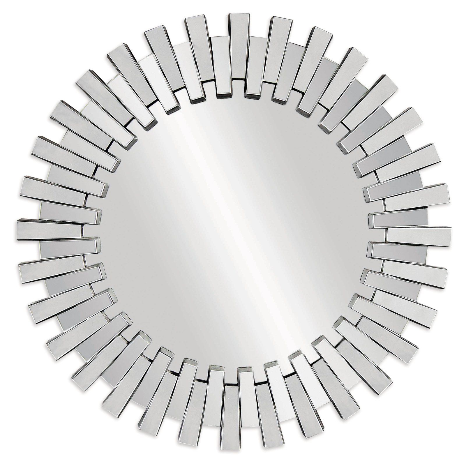 Baka Round Wall Mirror – 41 In (Image 2 of 20)