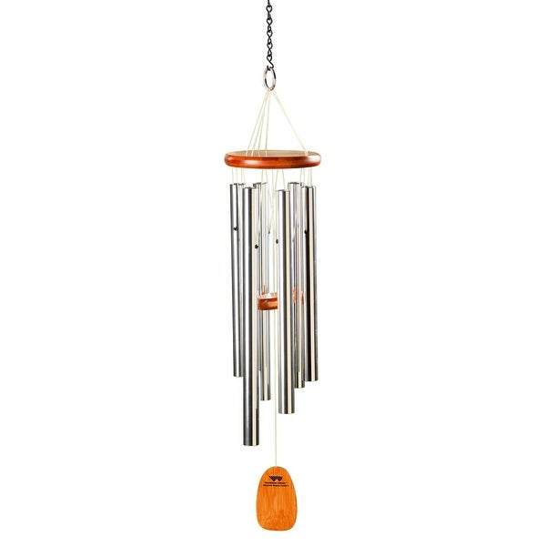"Bamboo Wood & Aluminum Wind Chimes – Tuned To Amazing Grace – 25"" Long – 25  In (Image 4 of 25)"